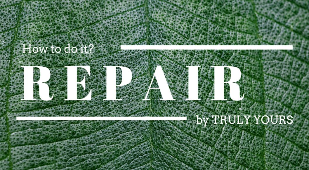 repair_fashion mode Bekleidung nachhaltig