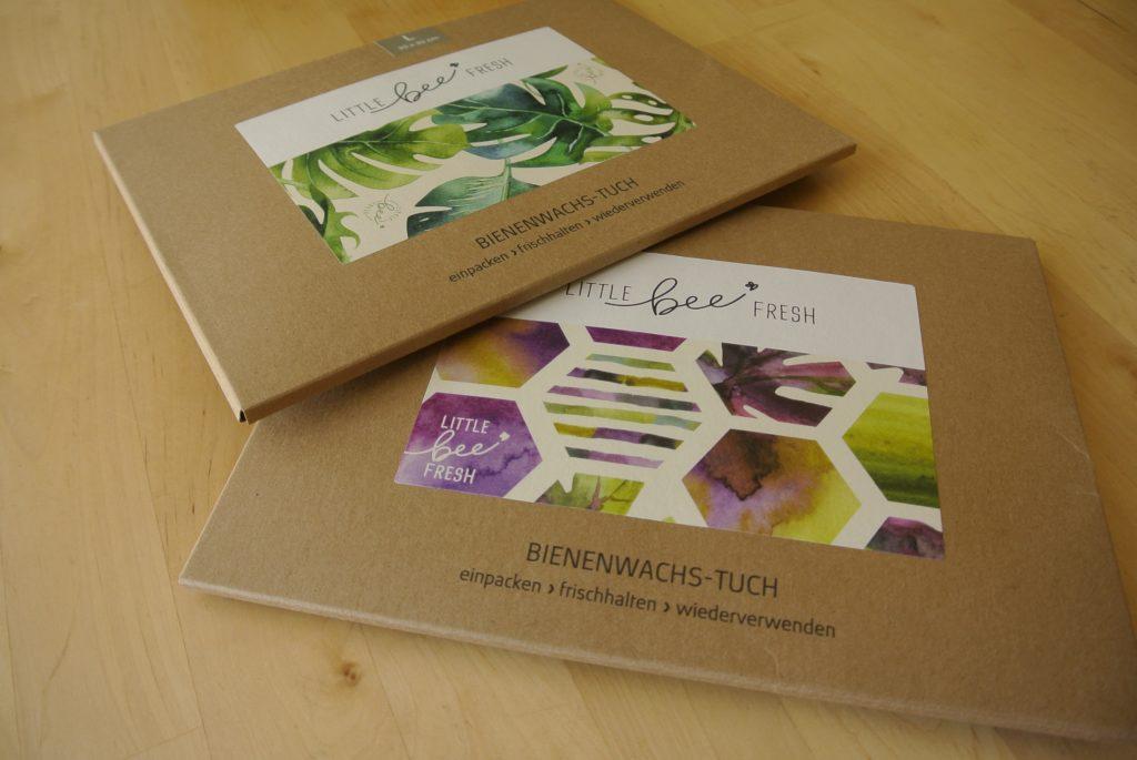 verpackung packaging little bee fresh wachstuch