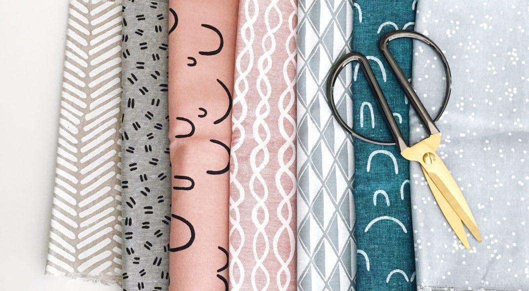 stoffe textil schneidern