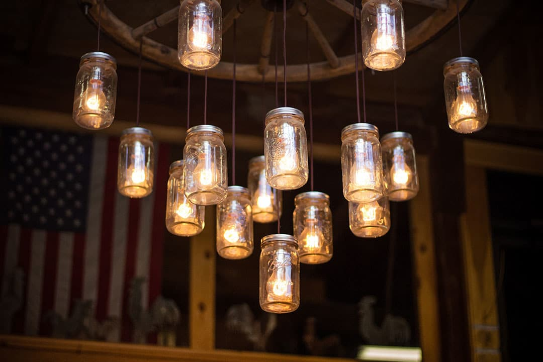 upcycling glas lampe sustaynme