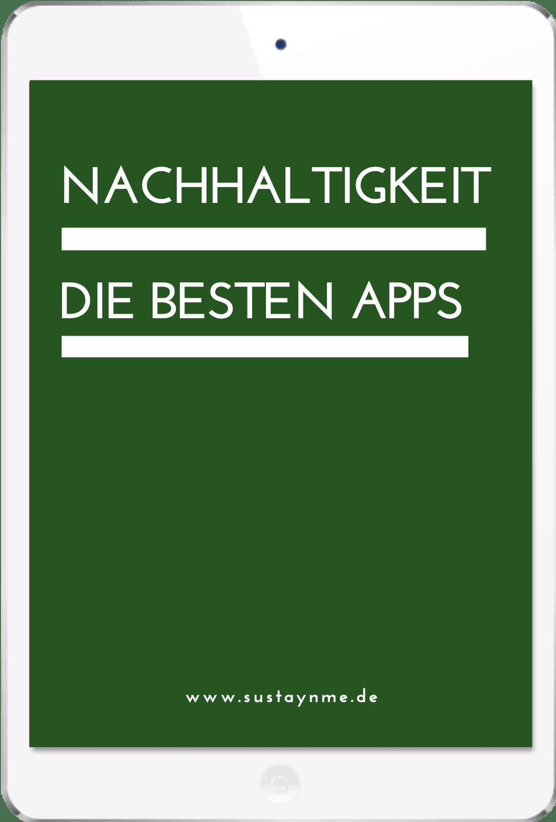 apps smartphone Nachhaltigkeit sustaynme